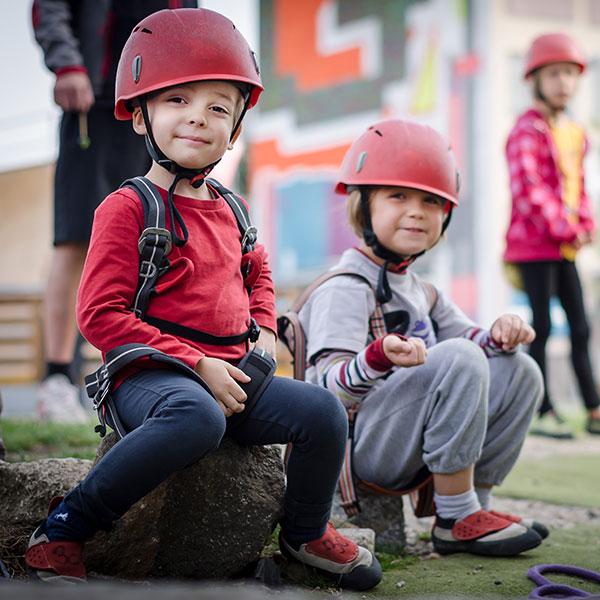 dětské kurzy lezení