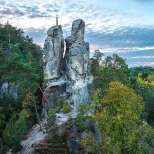 český ráj lezení